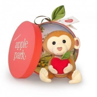 Peluche singe Apple Park 2