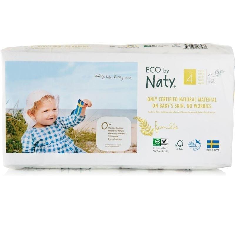 Naty Couches Maxi Plus 9 20kg Taille 4 Economy Babygreen